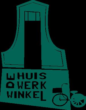 Logo De Huiswerkwinkel PMS 561U Naar CMYK