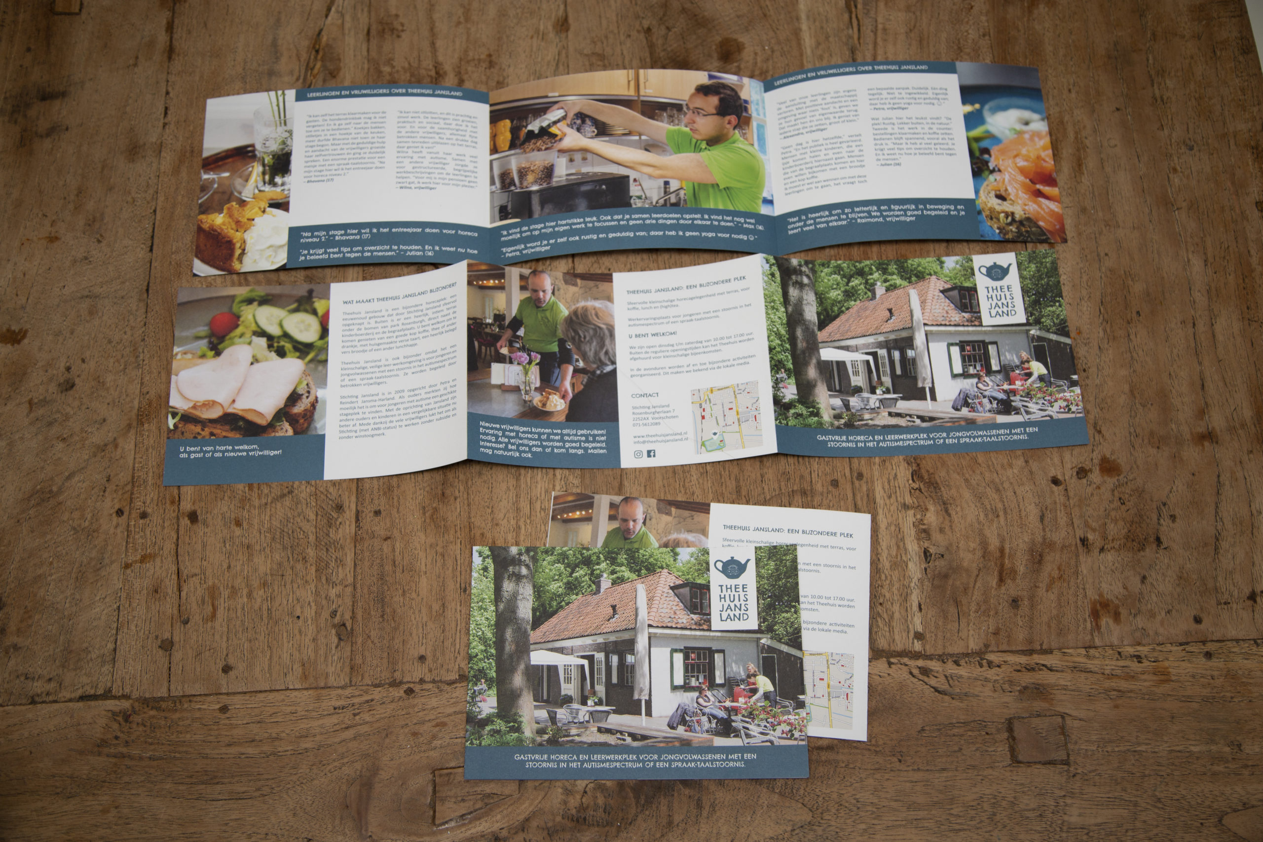 Theehuis Jansland - Brochure