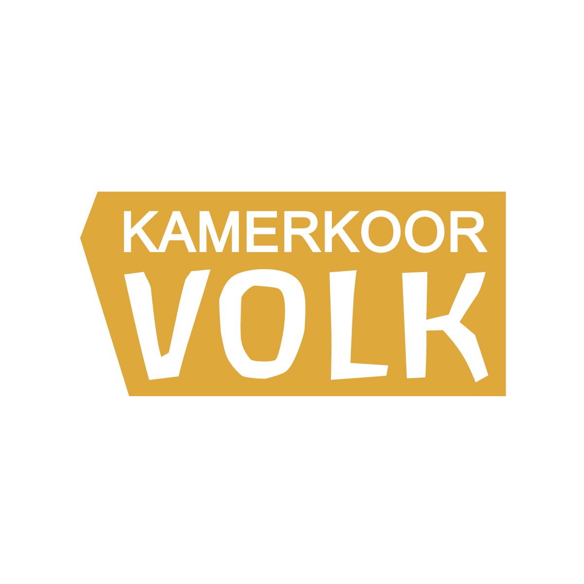 Kamerkoor Volk - Logo